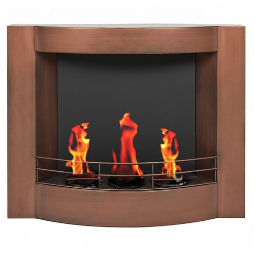 Best Choice Products® Oil Rubbed Bronze Gel Fuel Wall Mount Fireplace Fire Place image