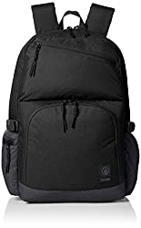 Volcom Men's Over Achiever Backpack, Black, One Size