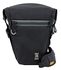 Ape Case ACPRO840W Standard Expandable Holster Camera Cases (Black/Yellow)