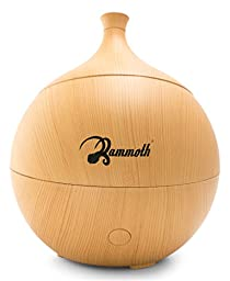 Mammoth Allie Ultrasonic Essential Oil Aromatherapy Diffuser 135mL (1 Year Replacement Warranty)