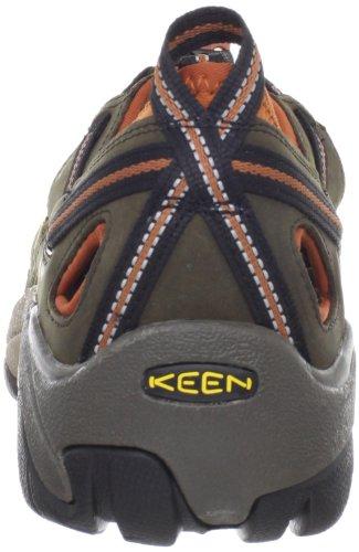 Keen-Arroyo-II-Herren-Trekking-Wanderhalbschuhe-Grn-Black-OliveBombay-Brown-43-EU-9-Herren-UK