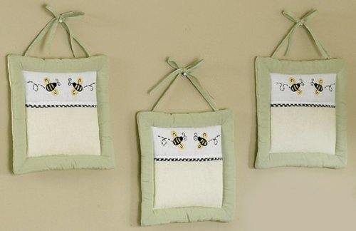Sweet Jojo Designs Wall Hanging - Bumble Bee - 1