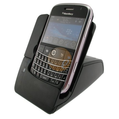 Blackberry Bold 9000 USDB Sync and Charge Premium Multi Function Cradle with AC Charger for 2nd battery support by eForCity