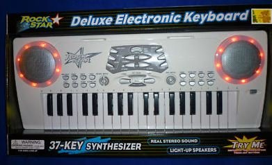 Rock Star Deluxe Electronic Keyboard