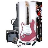 Left Handed Guitar Package SX EG1K BGMY Left w/GA1065