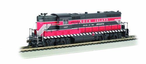 Bachmann Industries Rock Island #1227 Red Emd Gp7 Dcc Sound Value Diesel Locomotive