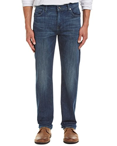 Seven For All Mankind Mens 7 For All Mankind Standard Jimmy Waters Straight Leg 36