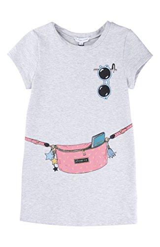 Little Marc Jacobs Fancy Pack Dress -6 -Grey