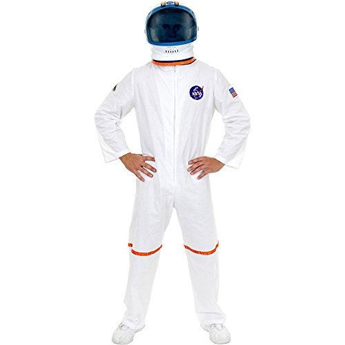 White Astronaut Suit Adult Costume