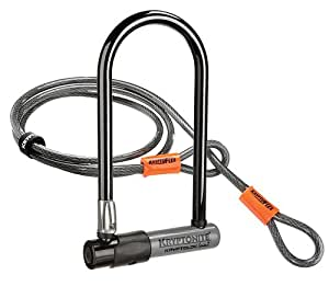 Kryptonite Bike Lock with 4-Feet Kryptoflex Cable