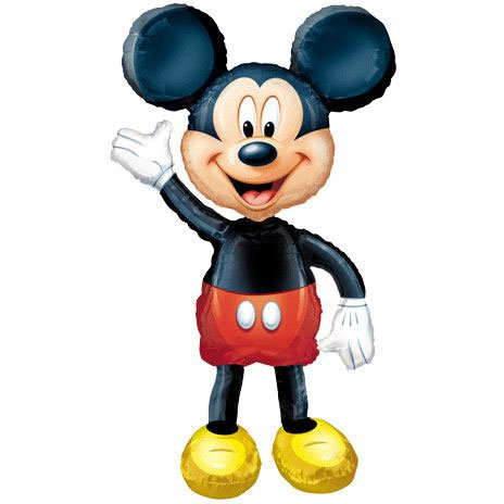 Mickey Mouse Jumbo Airwalker Party Balloon