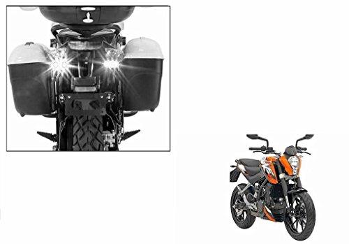 Speedwav Bike Sleek Twin LED Flasher Lights White-KTM Duke