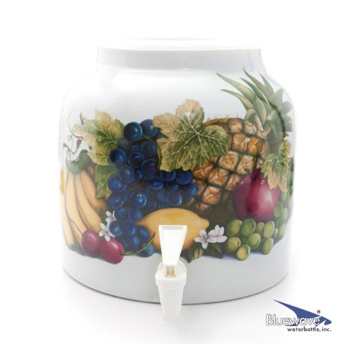 Bluewave Banana & Fruits Design Water Dispenser Crock (Ceramic Water Crock Top compare prices)