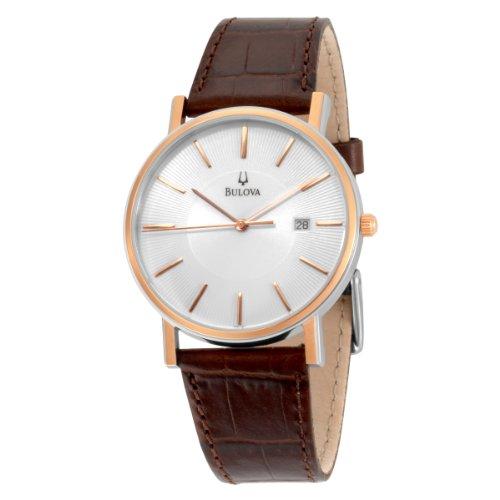 Bulova Men's 98H51 Strap Calendar Strap Watch