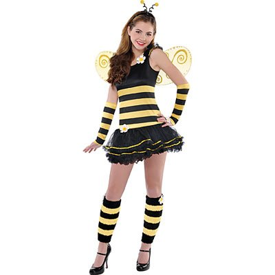 Teen Girls Sweet Bee Costume - Large