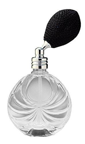 アトマイザー 卓上 フランス香水製瓶 199872 ブラック 30ml