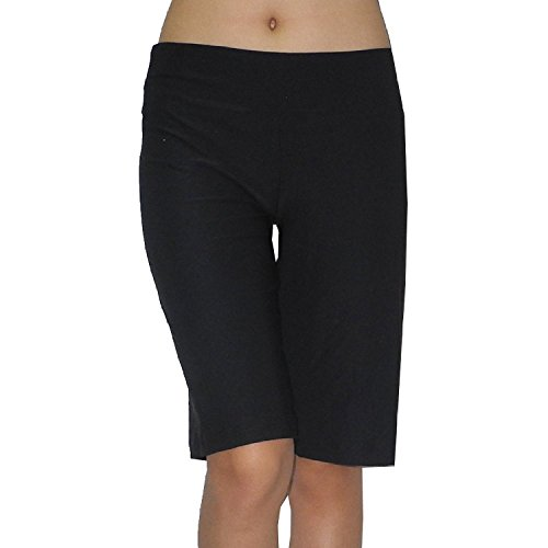 bally-total-fitness-damen-fitness-training-yoga-shorts-large-schwarz