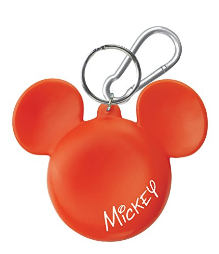 Disney Mickey Head Coin Holder Key Ring Novelty - 1