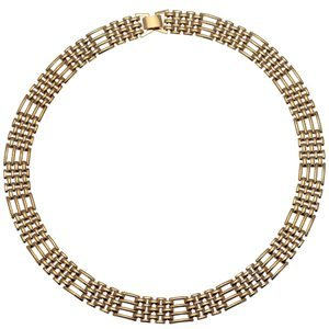 Gate Gold Plated Choker Necklace