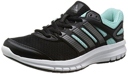 adidas Duramo 6, Scarpe da jogging Unisex - adulto, Nero (Schwarz (Black 1 / Carbon Met. S14 / Frost Mint F14)), 36