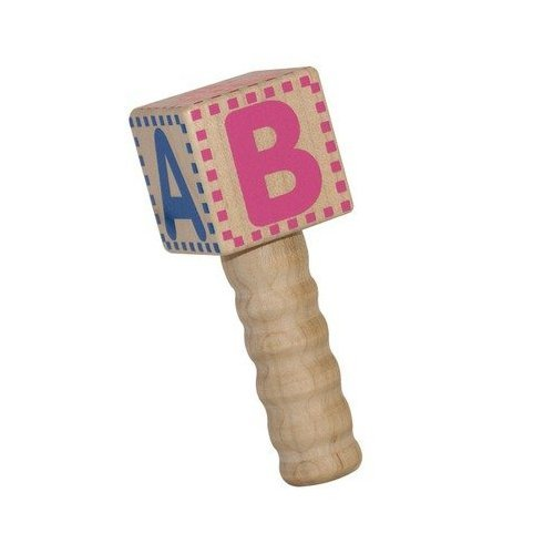 Classic Wood Baby Rattle Made in USA by Holgate