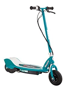 Razor E200 Electric Scooter (Teal, 37 x 16 x 42-Inch)