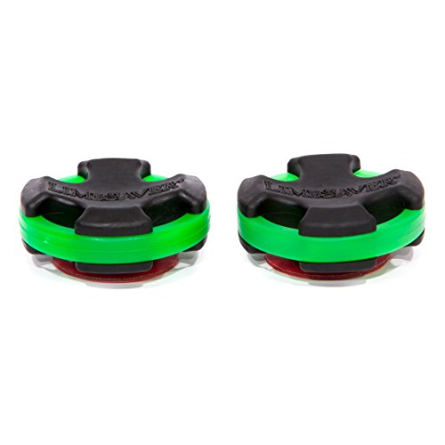 limbsaver-broadband-dampener-for-solid-limb-compound-bows-green-2-pack