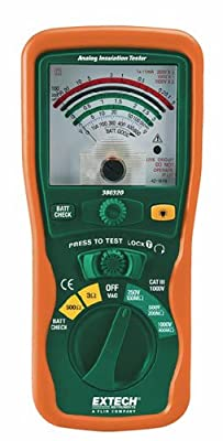 Extech Instruments Megohmmeter with Nist