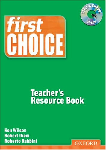 First Choice Teacher's Resource Book with CD-ROM Pack (Smart Choice)