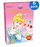 Kellogg's Fruit Flavored Snacks Disney Princess, 10-Count Box (Pack of 6)