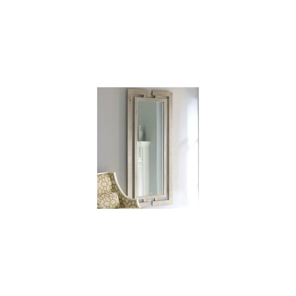 Extra Long Contemporary Silver Wall Mirror Full Length Modern