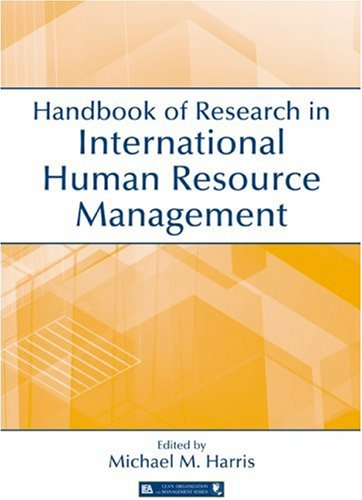 Handbook of Research in International Human Resource Management