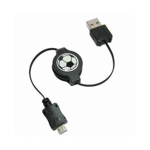 So'axess CABNOCA101RT Data Cable with Micro USB for Nokia E52 / E63 / E66 / E71 / E72 / E75 / N82 / N85 / N86 / 8MP / N96 / N97 / N97 Mini / X6 Black image