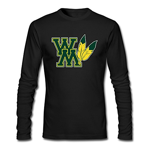 Zeni87 College Of William And Mary Male Tees 100% Cotton Nice
