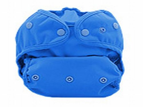 Marvels One Size Diaper Cover, Blue front-230909