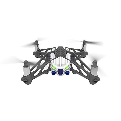 【国内正規品】Parrot Minidrones Airborne Cargo Mars (ホワイト)ドローン規制対象外200g 未満・パリデザイン・ブロックを組み立てカスタマイズ可能・自動安定ホバーリングクアッドコプター ・30万画素カメラ・簡単にアクロバット・スマホ・タブレットで操作 PF723331