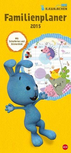 KiKANiNCHEN Familienplaner 2015, Buch