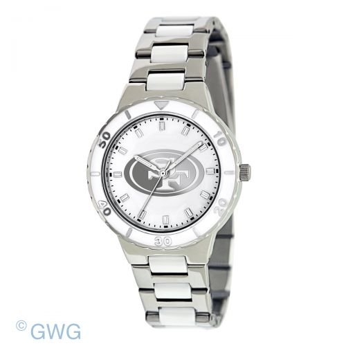 San Francisco 49ers Ladies Pearl Series Watch at Amazon.com