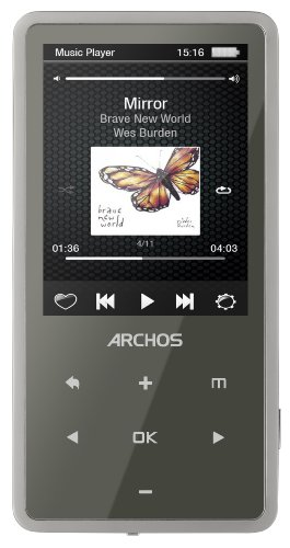 Archos Vision 24c 8 GB Video MP3 Player with 2.4-Inch Screen, Built-in Camera, and FM Radio (Black)