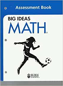 Big ideas math blue book