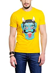 Yepme Men's Graphic Cotton T-shirt - B00O32A2AO