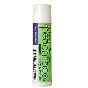 Peachface Sweetheart Lip Balm with Organic Honey and Vanilla 5ml
