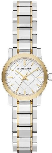 Burberry BU9217 Watch City Ladies - Silver Dial Stainless Steel Case Quartz Movement