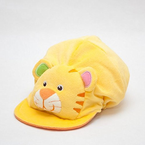 Baby Cap Hat, Animal Hat, Yellow Shirt Front Back Is Elastic Fabric, Soft And Comfortable front-499017