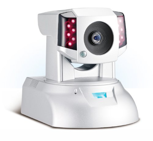 COMPRO IP540P Day & Night H.264 Megapixel/HD Network Camera with Pan/Tilt/Digital Zoom and POE