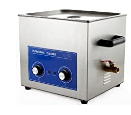 JeKen 15L Large Capacity Ultrasonic Cleaner PS-60 with Timer & Heater Without Basket 110V