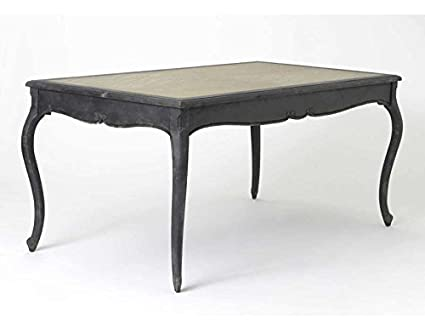 Table de salle à manger baroque vieilli