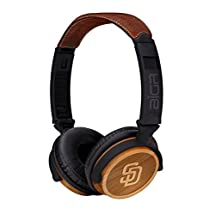 San Diego Padres MLB Over-the-Ear Headphones with In-Line Microphone