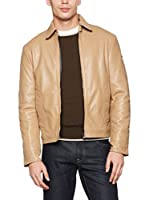 REFRIGIWEAR Cazadora Piel Leather Kimmel Jacket (Marrón)