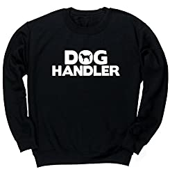 HippoWarehouse Dog Handler unisex jumper sweatshirt pullover